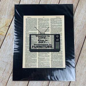 Original Dictionary Art Print